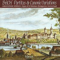 BACH Partitas & Canonic Variations